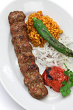 adana kebab, turkish food