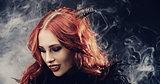 Gothic women halloween