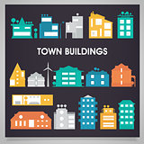 Buildings and houses collection