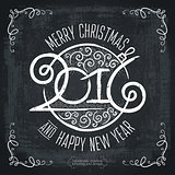 MERRY CHRISTMAS lettering1