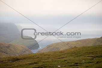 Beautiful landscape on the Faroe Islands