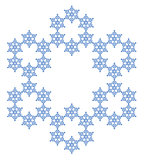 Snowflake. Flake of snow