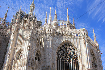 Cathedral Duomo di Milano in Milan, Italy