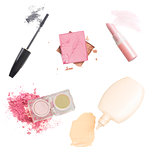 Set of make up cosmetics