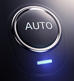 button with text auto