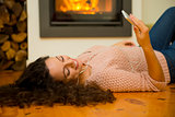 Warming and listening to music