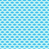 Blue Stylized Simple Seamless Pattern