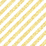 New Year seamless gometric pattern with golden glitter textured stripes