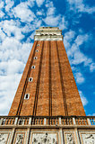 Italy Venice tower piazza San Marco
