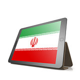 Tablet with Iran flag