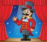 Circus ringmaster theme image 2