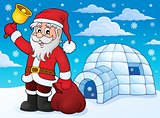 Igloo with Santa Claus theme 3