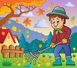 Image with gardener theme 4