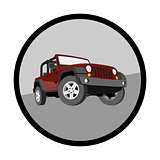 Convertible, car, off-road, jeep, SUV