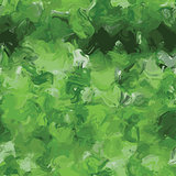 Vector watercolor imitation seamless green background
