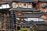 Korean traditional house building