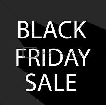 Black Friday sale design element