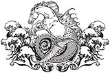 hippocampus mythological seahorse