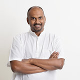 Mature casual business Indian man
