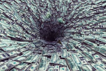 Black hole money