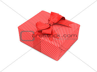 3d illustration of gift box