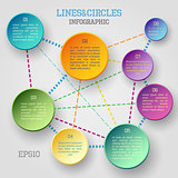 Circle infographic