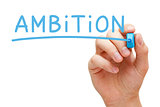 Ambition Blue Marker