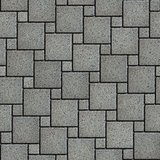 Gray with the Effect of Marble Pavement Square Shape.