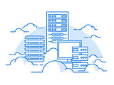 Cloud service database
