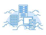 Cloud service database