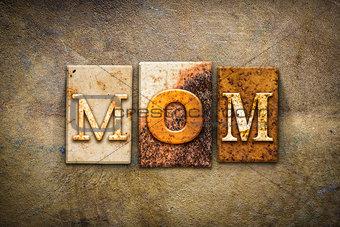 Mom Concept Letterpress Leather Theme