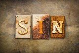 Sin Concept Letterpress Leather Theme