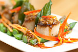 Thai Scallops Dish