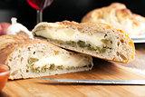 Stromboli Stuffed Bread
