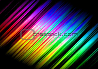 Abstract Rainbow Waves