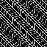 Seamless wavy lines pattern.