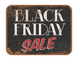 Black Friday Sale vintage sign