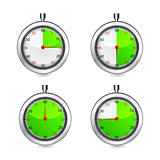 Set of timers. Vector