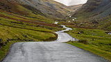 Honnister Pass Road, Lake District, England