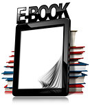E-book Reader with Books