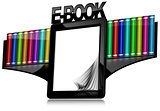 E-book Reader with Library