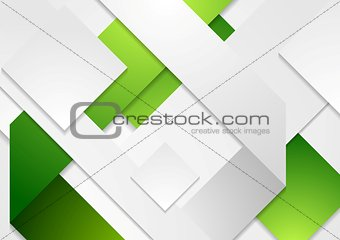 Corporate tech vector white green background
