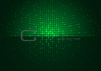 Green Disco Background
