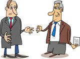 business negotiations cartoon