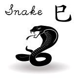 Chinese Zodiac Sign Snake