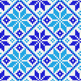 Nordic ornament knitting seamless texture