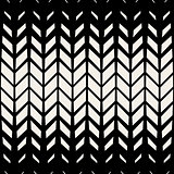 Vector Seamless BW Triangle Diagonal Chevron Grid Pattern