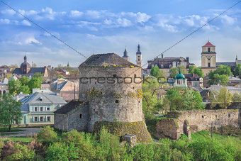 old tower in Kamianets Podilskyi