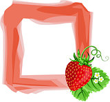 Strawberry frame