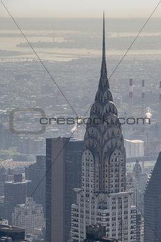 Chrysler building facade